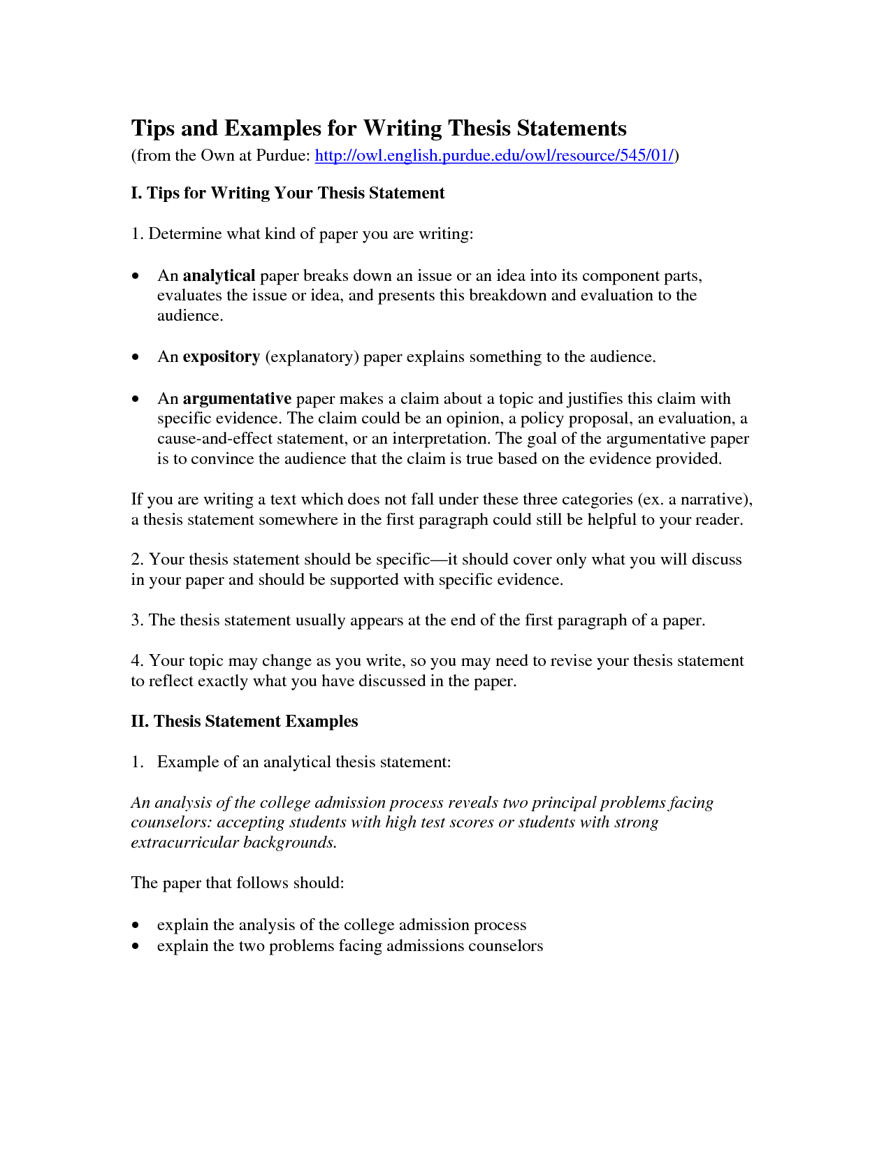 Decision Making Reflective Essay Outline