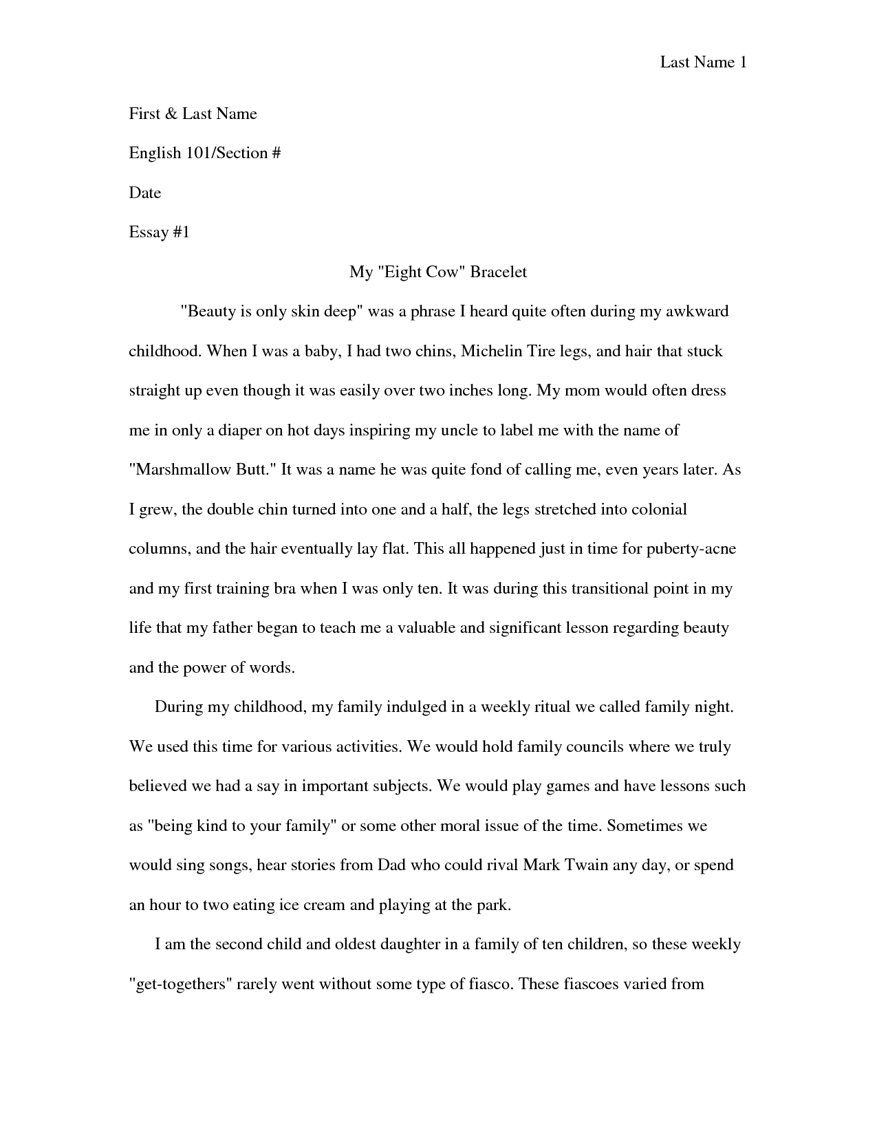 Parents Are The Best Teachers Essay Toefl
